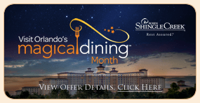 Rosen Shingle Creek Visit Orlando's Magical Dining Month