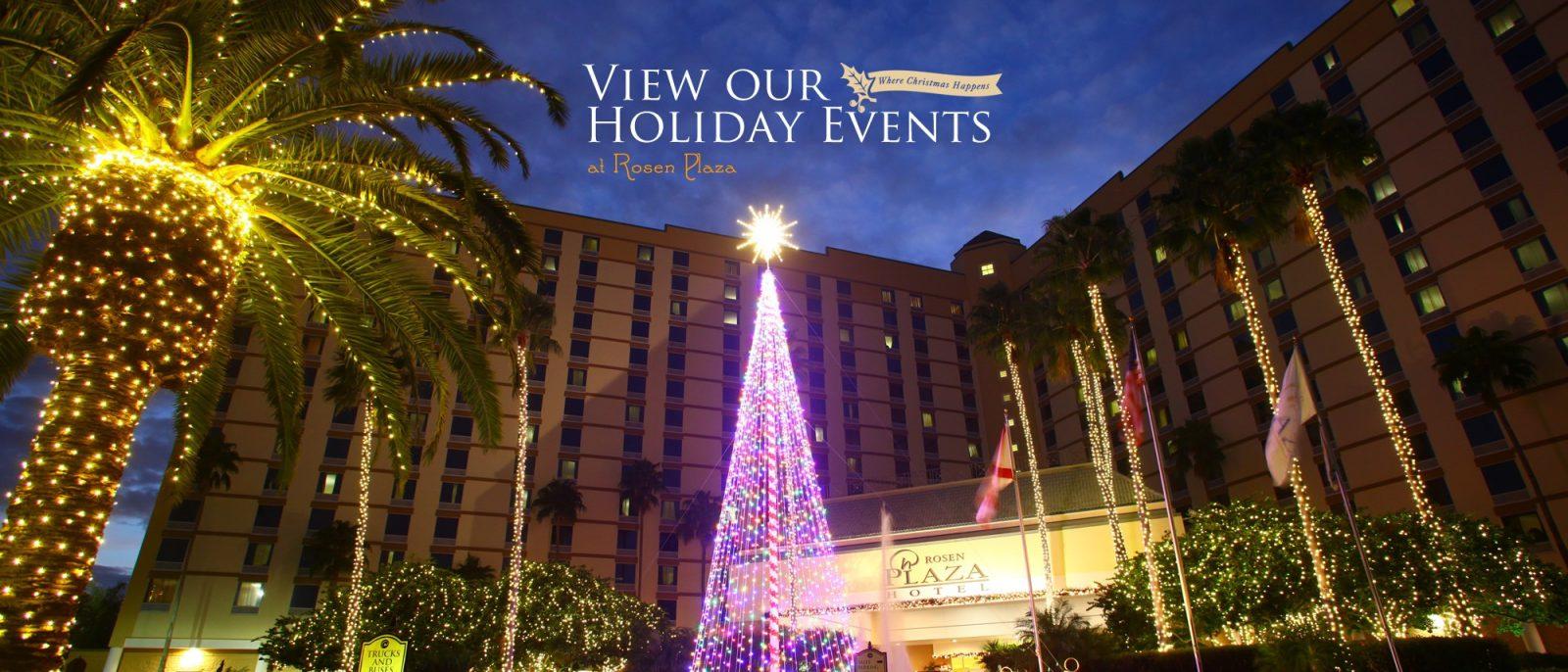 Rosen Plaza® Holidays