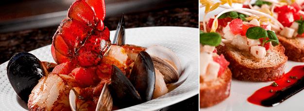 Cala Bella Lobster Pescatore & Bruschetta
