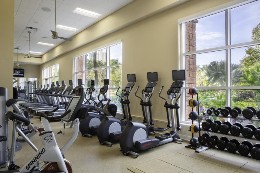 Rosen Medical Center - Gimnasio