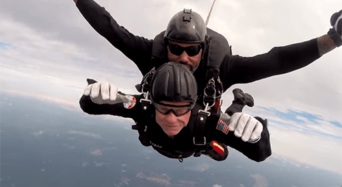The All Veteran Parachute Team – Harris Rosen