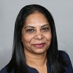 Shrimati Singh, associate since May 1991