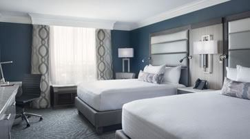 New ultra-modern guestroom at Rosen Centre