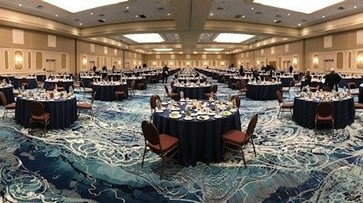 26,000 sq.ft. Grand Ballroom at Rosen Plaza
